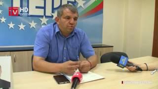 Първа пресконференция на утвърдения лидер на ГЕРБ - Гоце Делчев Димитър Гамишев