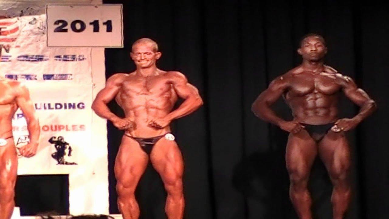 Prejudging Mens Open light weight class 165lb under