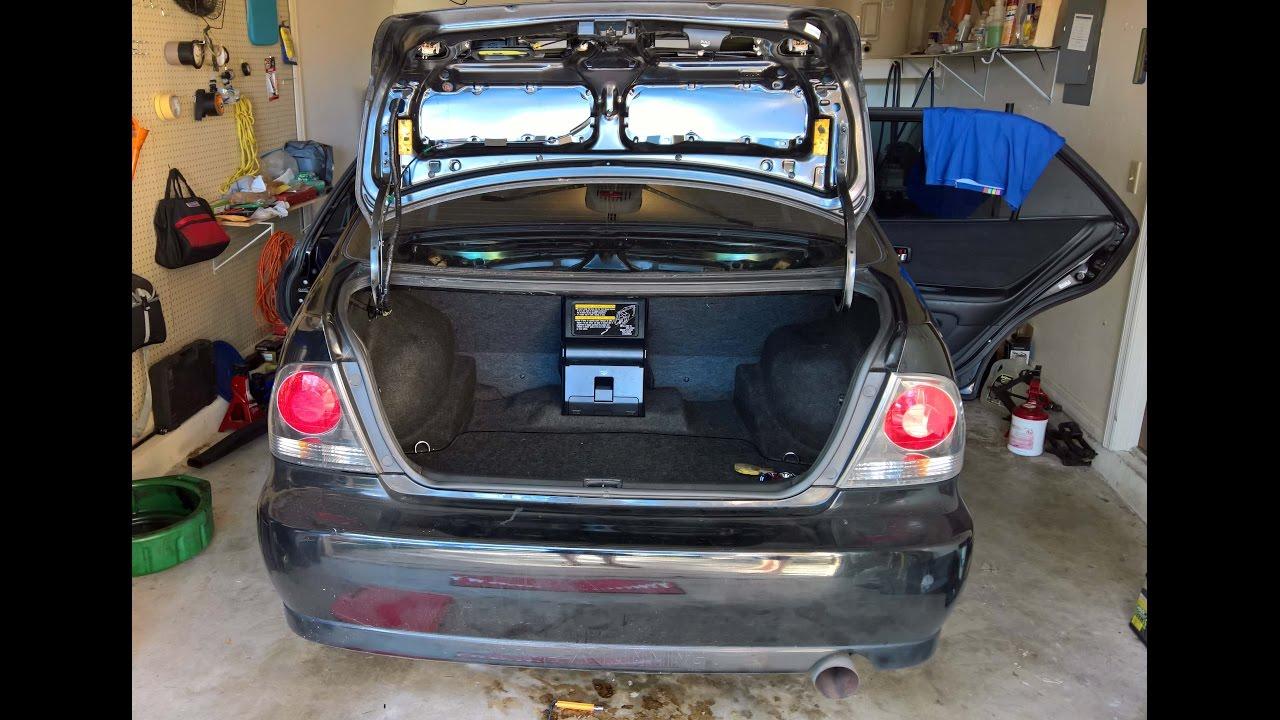 2016 Acura Tl >> Lexus IS 300 Bad Faulty Trunk Lid Hinge Torsion Bar ...
