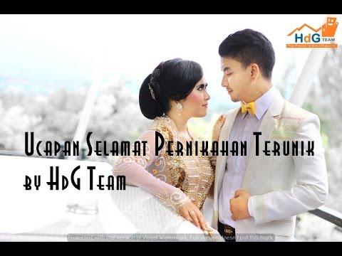 Ucapan Selamat Pernikahan Terunik By Hdg Team Firman Dan Inggit
