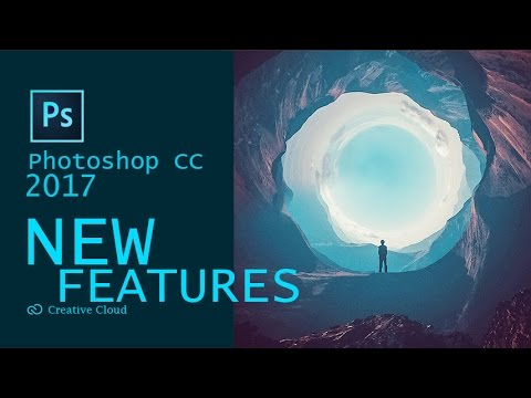 features of adobe photoshop cc 2017