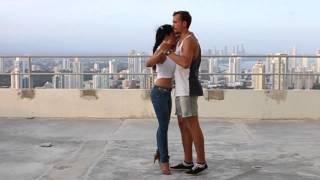 Kizomba, clase de intro de Damien Leroy en Panamá
