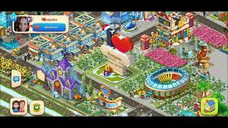 ТАУНШИП город и ферма #556  Знакомство с моим городом  Игровое видео