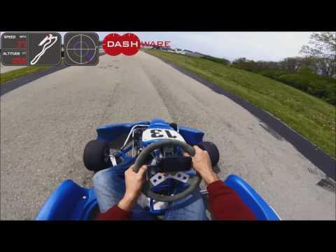 10 Laps at Wilmington Raceway Park with Dashware GPS info