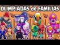 OLIMPIADAS de FAMILIAS   CUAL ES LA MEJOR FAMILIA de BRAWL STARS