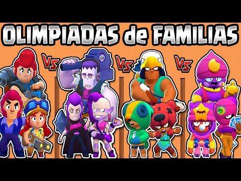 OLIMPIADAS de FAMILIAS