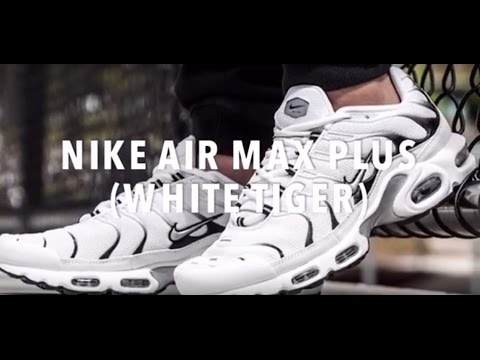 NIKE AIR MAX PLUS (WHITE TIGER) SNEAKERS NEWS