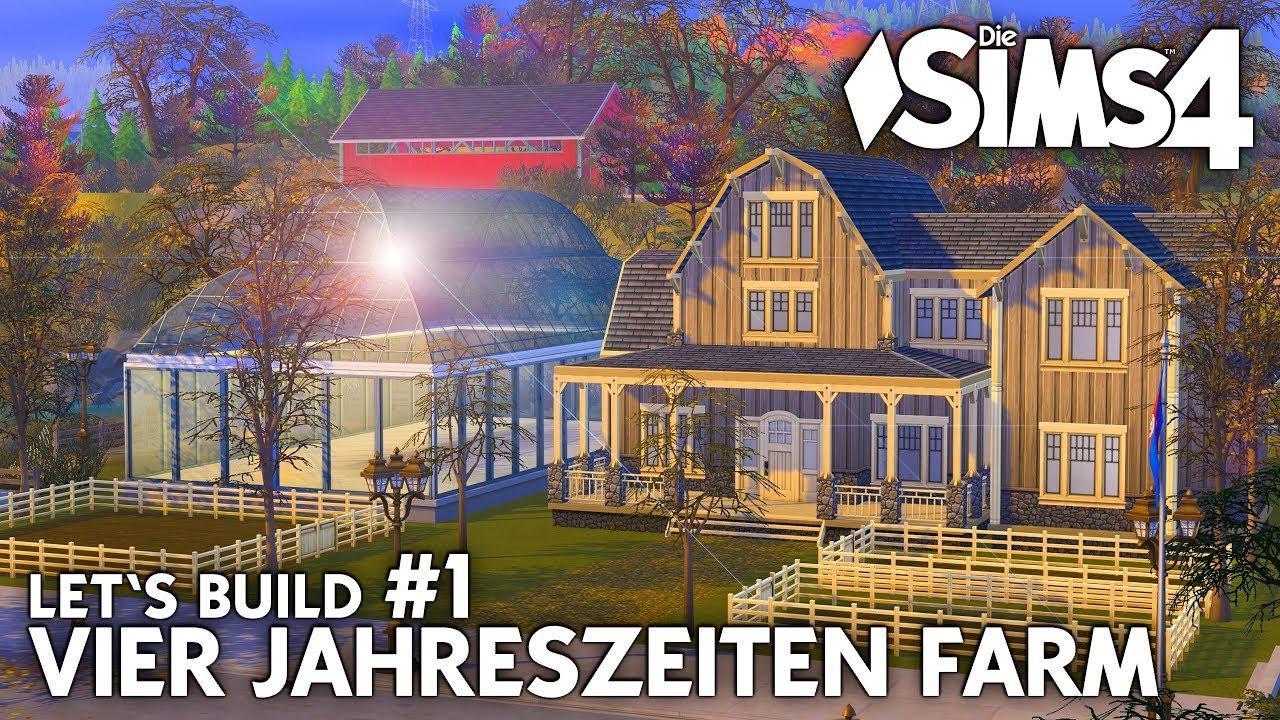 Vier Jahreszeiten Farm Haus Bauen Gewachshaus Die Sims 4 Let S
