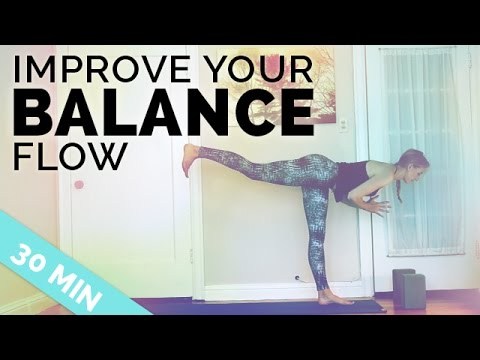 improve your balance yoga sequence ♥ all my tips to
