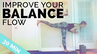 Video Improve Your Balance Yoga Sequence ♥ All My Tips to Balance in Yoga Poses ♥ (30-Min) download MP3, 3GP, MP4, WEBM, AVI, FLV Maret 2018
