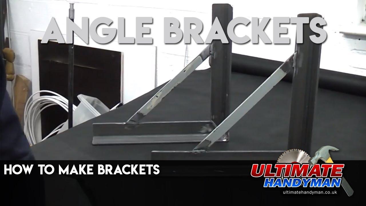 How to make brackets | Angle brackets