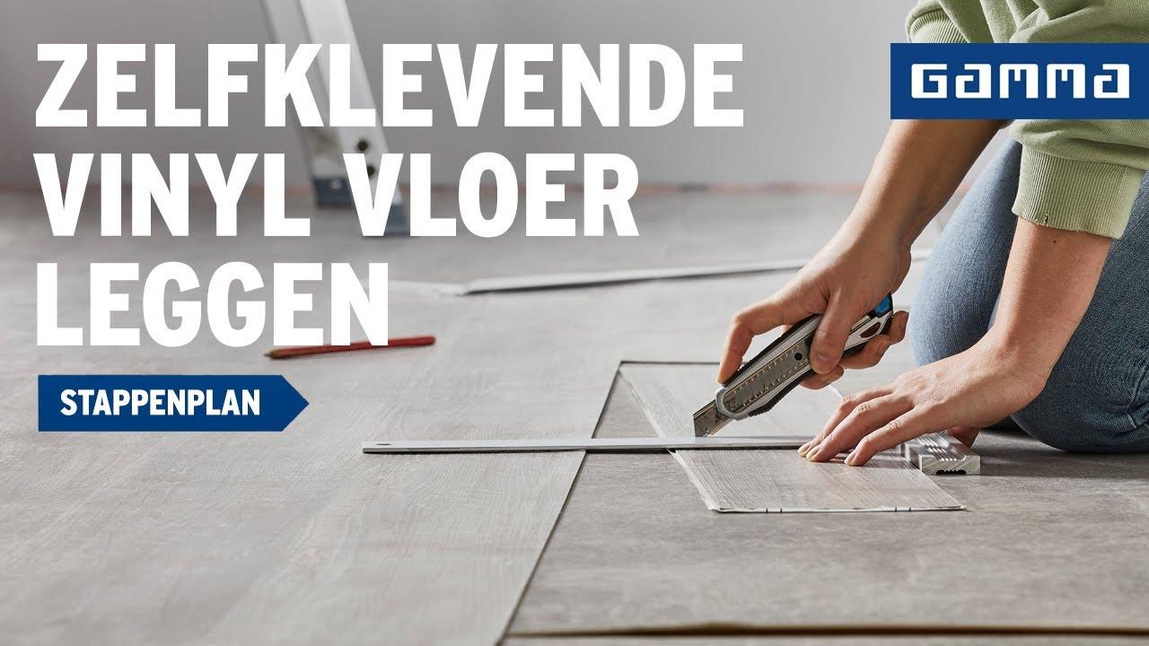 Pvc Vloeren Gamma : Zelfklevende kunststof vloer leggen klustips gamma belgië