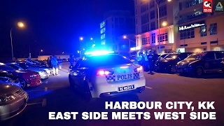 Police and JPJ going to Ambush - East Side Meets West Side 2017 AeroGK