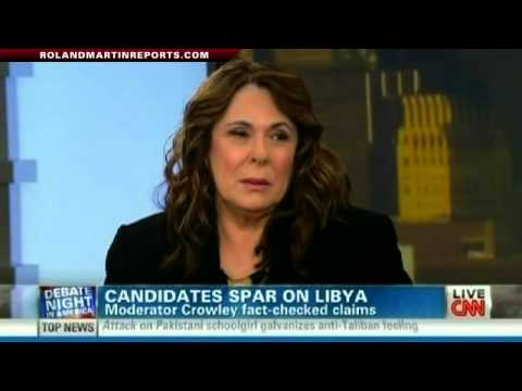 The Libya Moment: Debate Moderator Candy Crowley Discusses ...