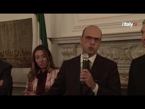 Angelino Alfano, incontra la comunità italiana di New York