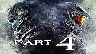 Halo 5 Guardians Gameplay Walkthrough Part 4 Master Chief V S Spartan Locke