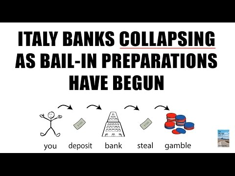 Italy Banks COLLAPSING as BAIL-IN Preparations HAVE BEGUN!