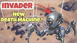 War Robots: New Spider Robot INVADER GAMEPLAY| This Robot is UNSTOPPABLE !