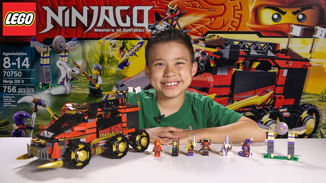 ninja db x lego ninjago 2015 set 70750 time lapse build unboxing review youtube