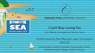I Can't Stop Loving You - Monash Jazz Orchestra