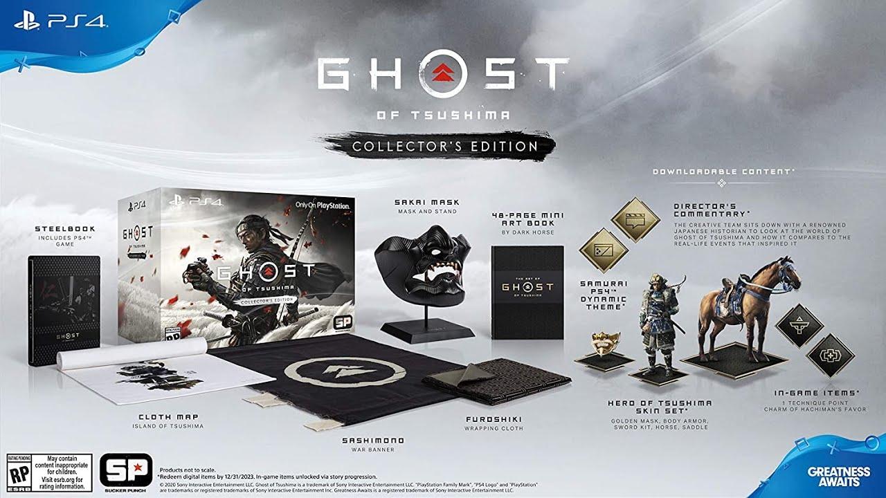 Ghost of Tsushima Edición Coleccionista Unboxing
