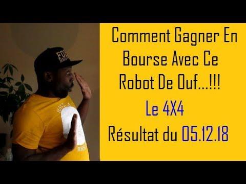 COMMENT GAGNER EN BOURSE   ROBOT DE TRADING   Le 4X4   05 12 18