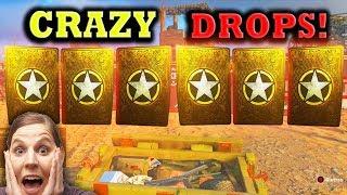 Opening 56+ SUPPLY DROPS in COD WW2! (Best HEROIC Supply Drop Opening)