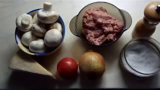 шампиньоны в духовке