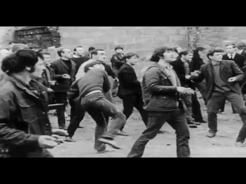The Battle of the Bogside - Derry City, Ireland:  August 12-14 _ 1969