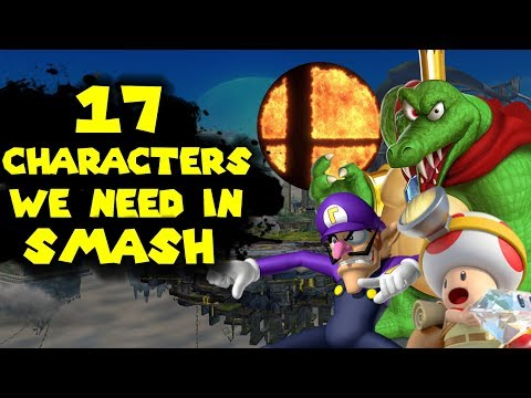 17 Characters I want in Super Smash Bros Switch!