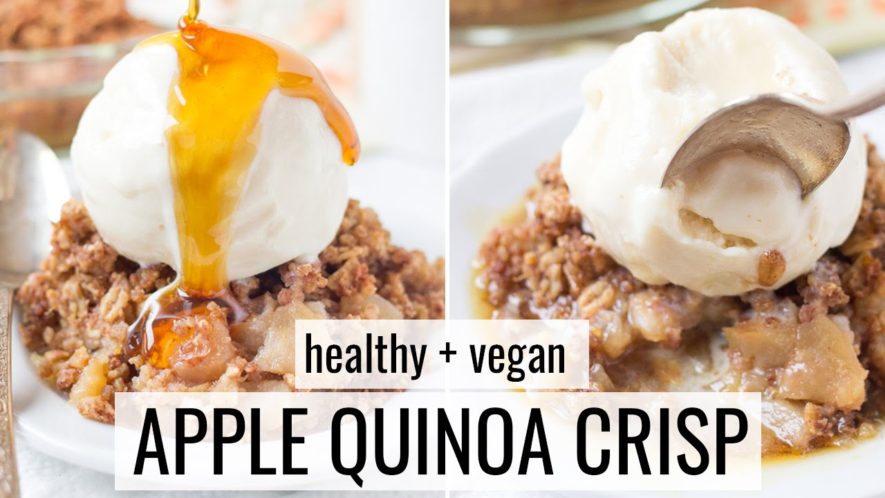 Healthy Apple Crisp Recipe Healthy Dessert Ideas Youtube