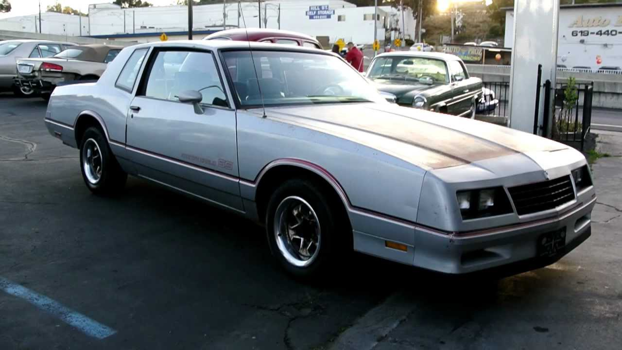 All Chevy 1985 chevy monte carlo ss for sale : 1985 Chevrolet Monte Carlo SS Super Sport V8 2 Owner Running Clean ...