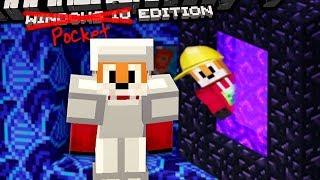 Minecraft | PORTAL HOPPING | Foxy's Bedrock Survival [22]