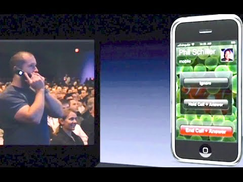 Steve Jobs first iPhone call to Jony Ive 2007