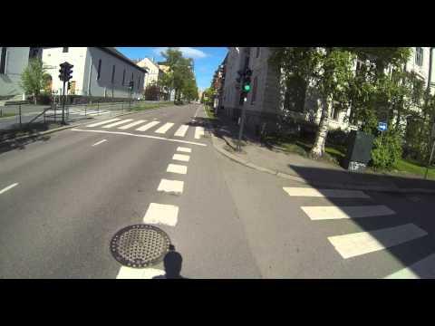 Oslo bike land Kirkeveien