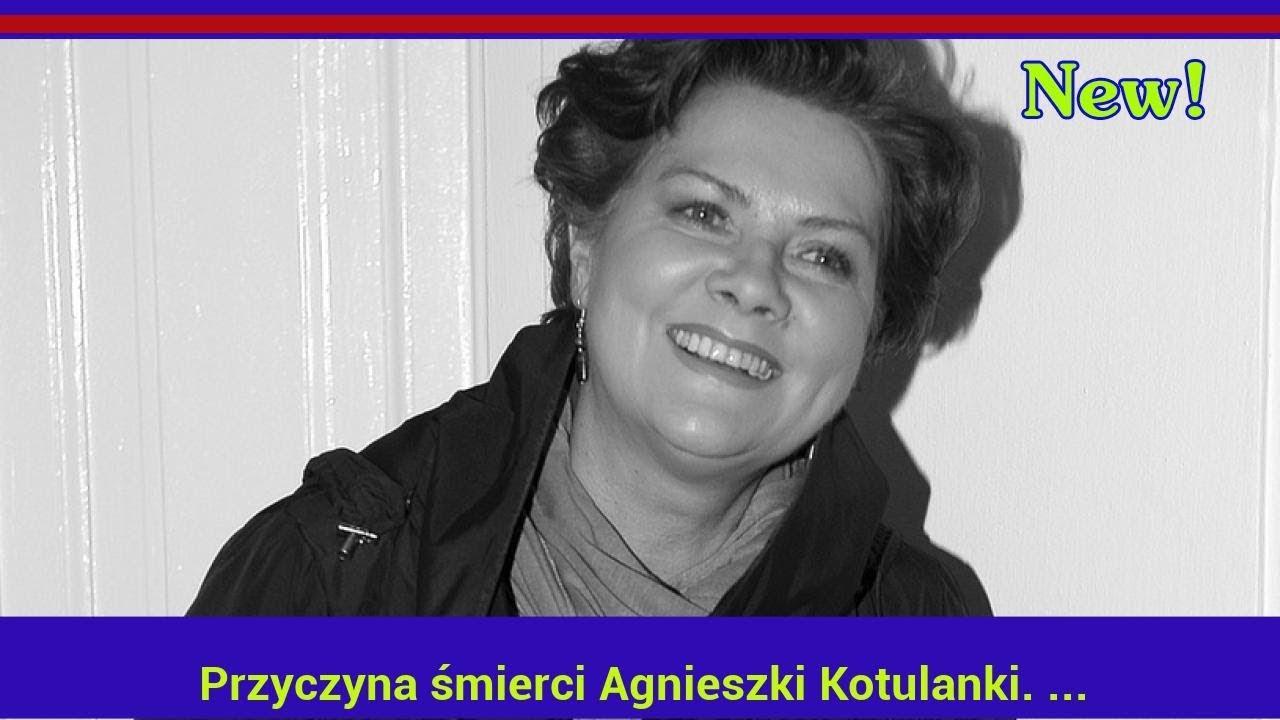 Przyczyna śmierci Agnieszki Kotulanki. Najnowsze doniesienia tabloidu