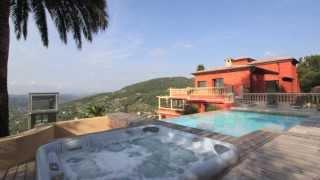 Vente propriété de prestige Grasse (Proche Cabris) - Vue Mer Montagne - Piscine - 500 m²