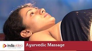 Ayurvedic Massage To Reduce Fat From Abdomen & Inner Thighs | India Video