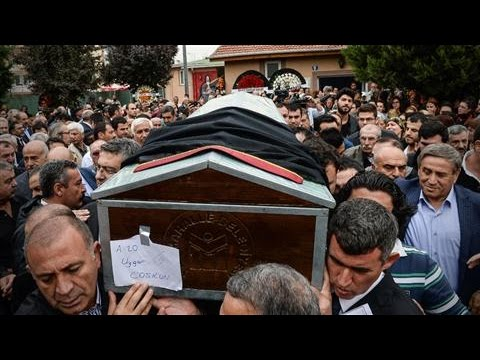 Mourners Gather as Ankara Blast Victims Are Buried