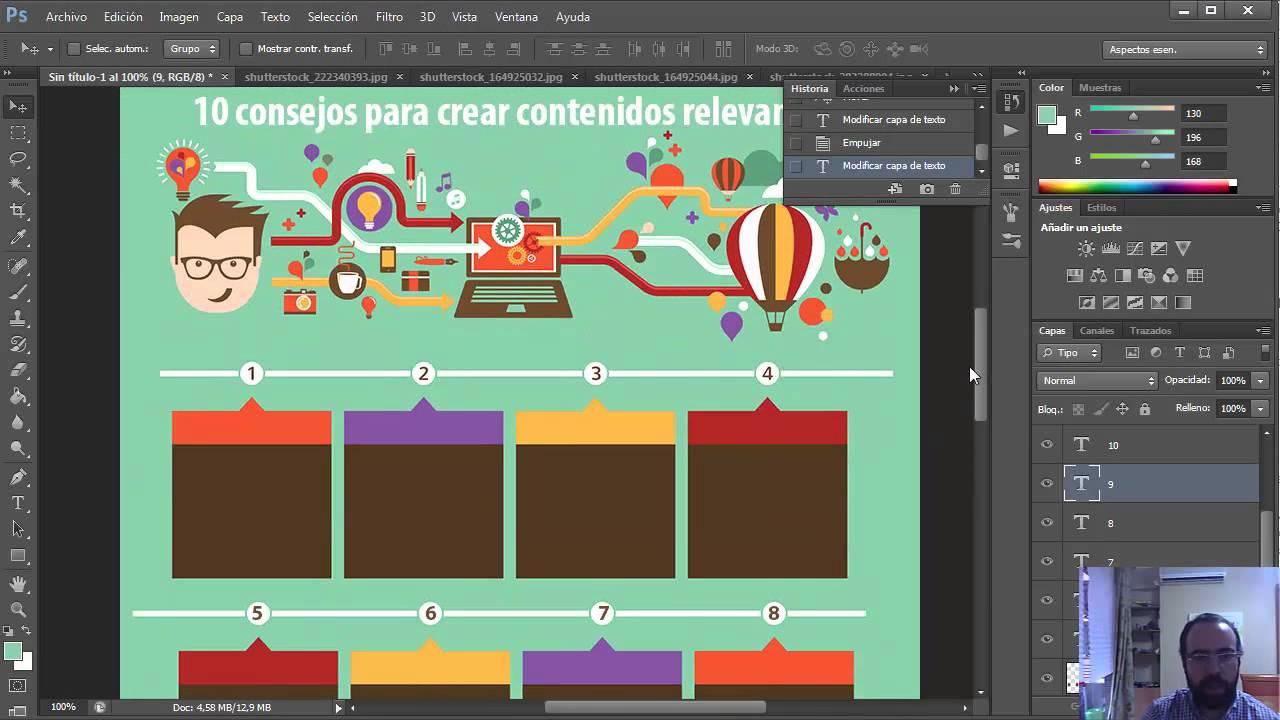 Guía para crear infografías super originales con Photoshop ...