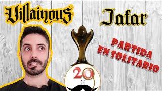 JAFAR 🧞♂️ Villainous - Partida en SOLITARIO