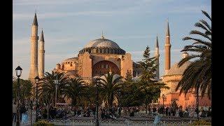 Турция Стамбул Обзорная экскурсия  2 часть  Собор Святой Софии Ипподром Голубая мечеть