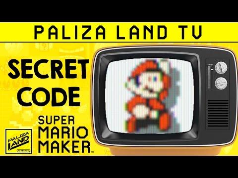 Trucos y Secretos SUPER MARIO MAKER - Old School TV CODE (Filtro CTR sin amiibo)