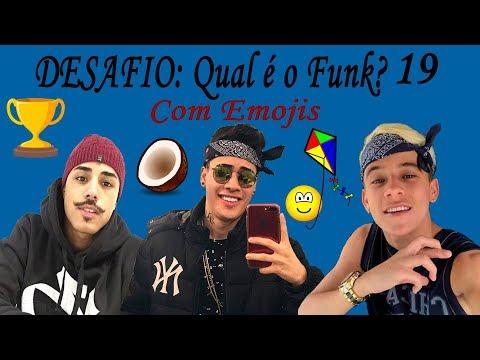 DESAFIO: Qual é o Funk? Com Emojis Parte 19 (MC Kevinho, MC Pedrinho, MC Livinho, ...)