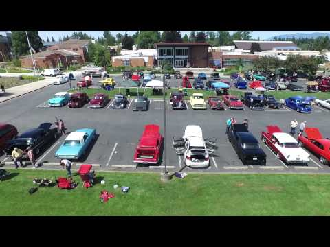 Classic Cars at Skagit Valley College