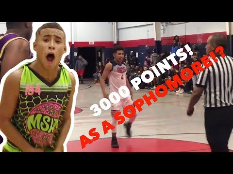 Julian Newman Scores His 3,000th CAREER POINT 😱 Finishes Game With 40!