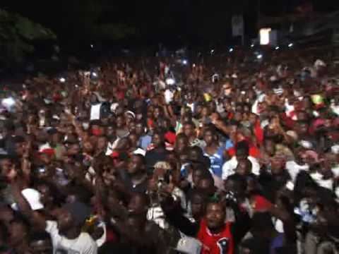 Massive Crowd at Shatta Wale Concert