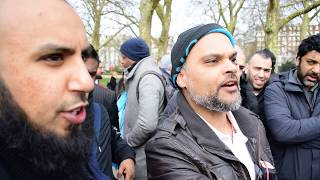 Ignorance is a Choice!  Brother Zakir & Hashim vs Visitor l Speakers Corner l Hyde Park