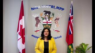 Happy Vaisakhi from Nina Tangri, MPP