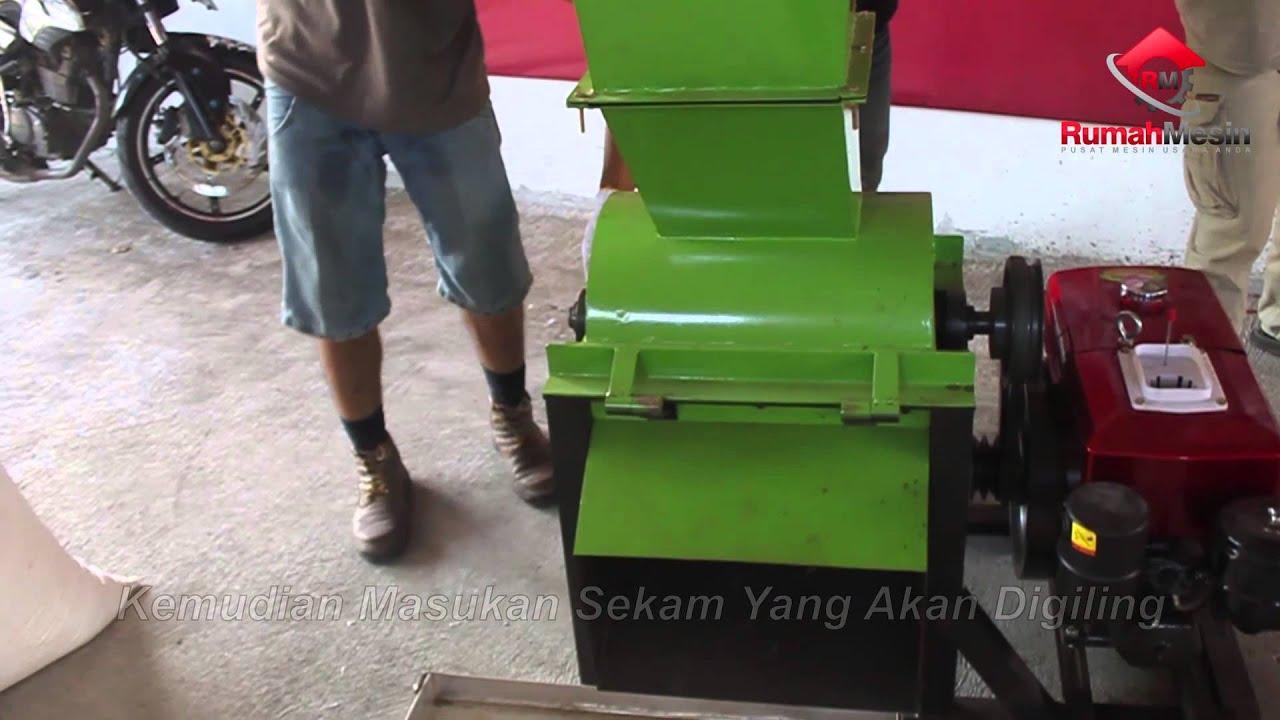 Mesin Giling Sekam Multifungsi Mixer Adonan Baglog